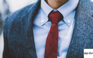 یقه پیراهن مردانه