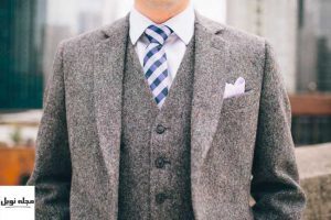 کراوات با شلوار جین