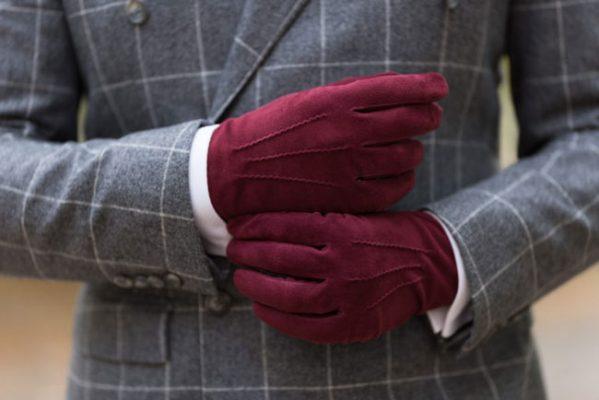دستکش چرم اسپورت مردانه