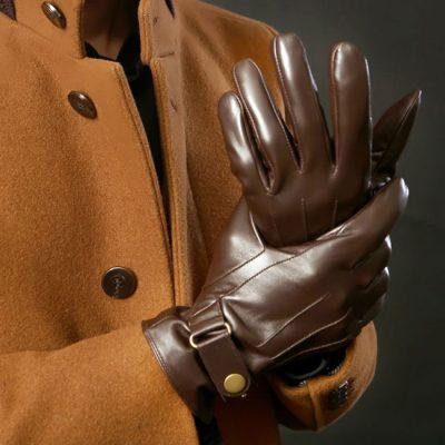 دستکش چرم مردانه ارزان